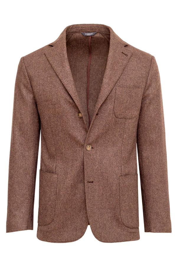 Twill Wool & Angora Jacket