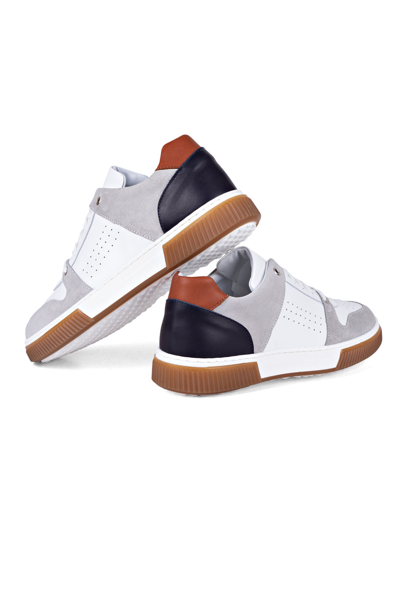 MONTEZEMOLO Men's Clothing - Sneakers - Suede & Nubuk Leather Sneakers - www.montezemolostore.com