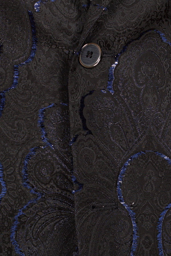 MONTEZEMOLO Men's Clothing - Jackets - Brocade & Flocked Jacquard Red Carpet Jacket - www.montezemolostore.com