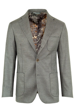 MONTEZEMOLO Men's Clothing - Jackets - Cotton & Cashmere Blend Jacquard Jacket - www.montezemolostore.com