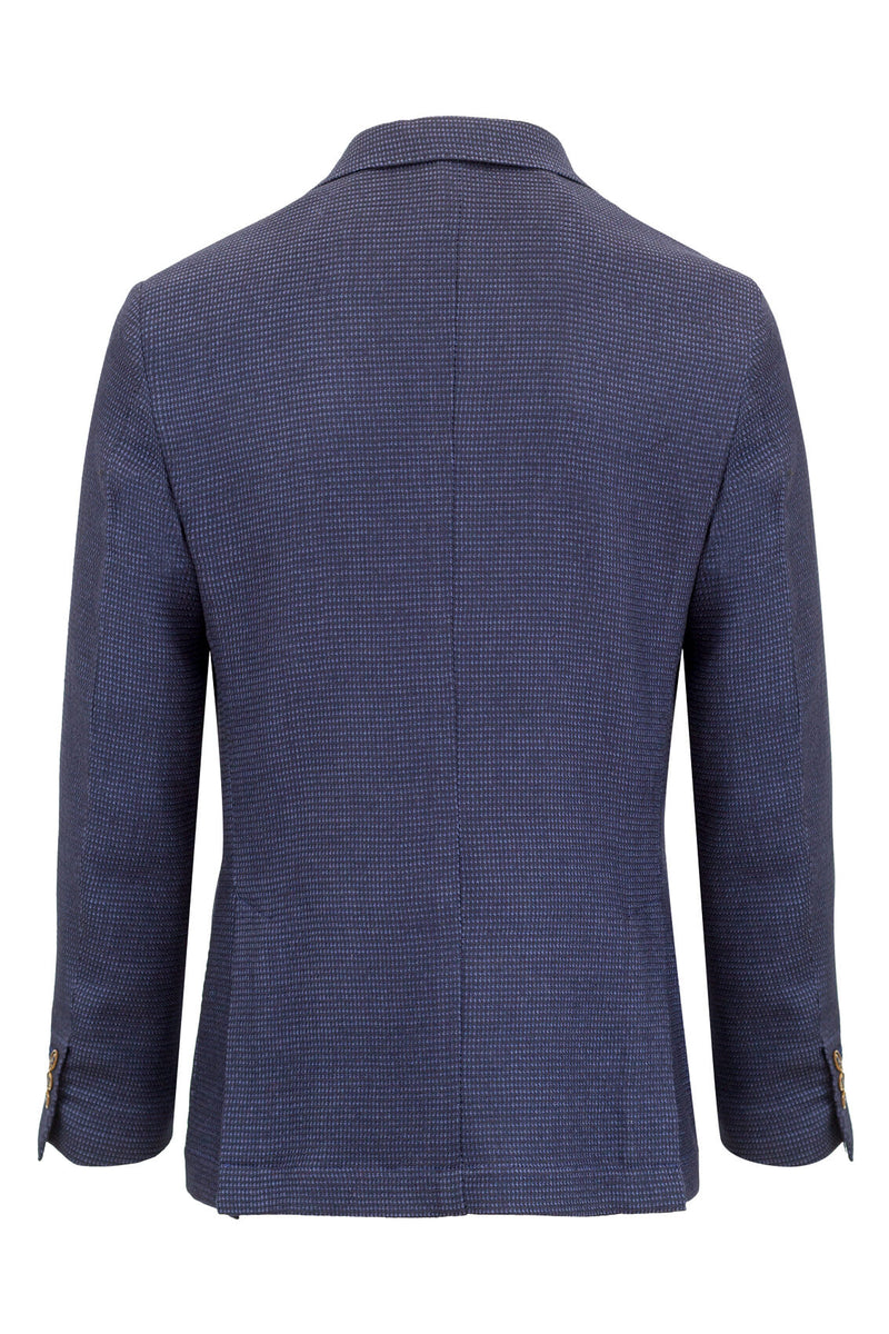Wool & Silk Reps Jacquard Jacket