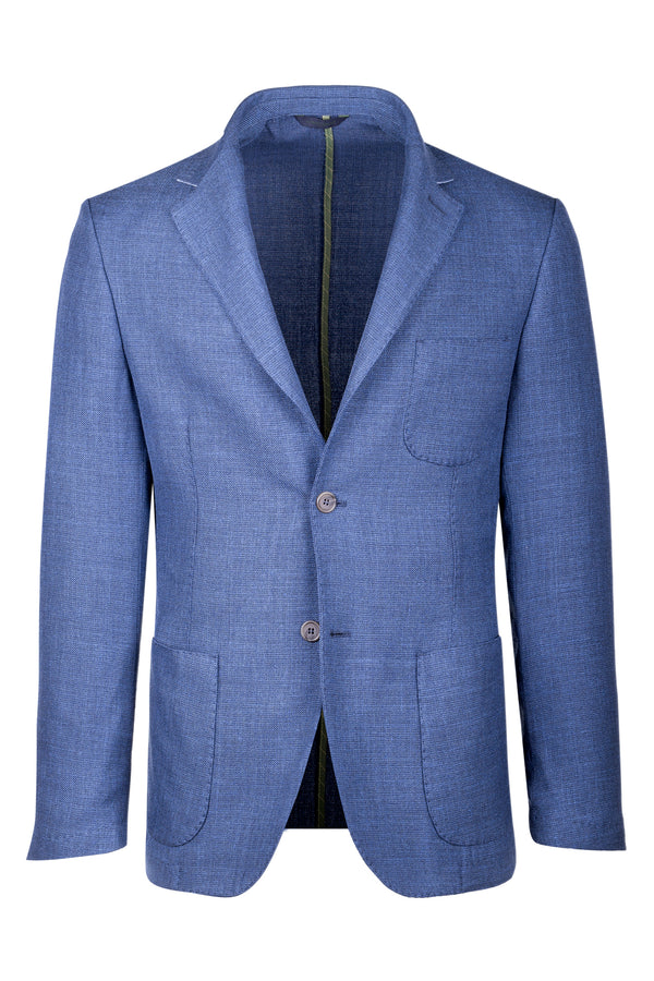 MONTEZEMOLO Men's Clothing - Jackets - Wool Silk & Linen Jacket - www.montezemolostore.com