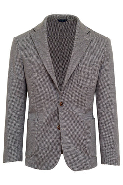 Wool & Cotton Blend Reps Jacket