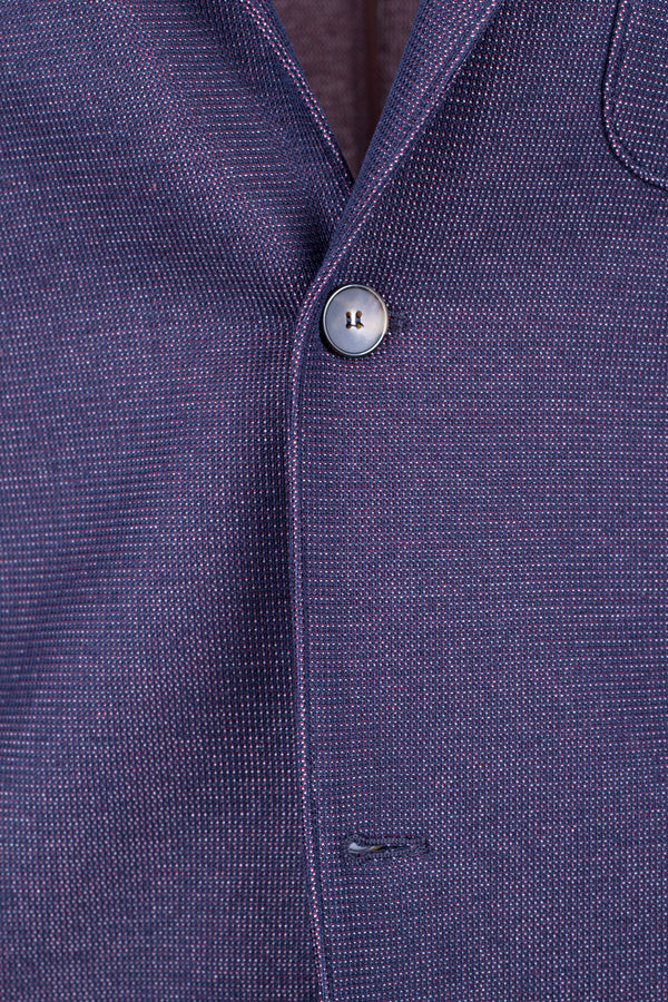 MONTEZEMOLO Men's Clothing - Jackets - Birds-Eye Jersey Cotton Jacket - www.montezemolostore.com