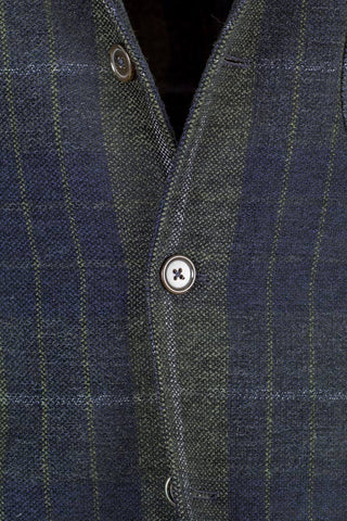 Check Wool Jacket