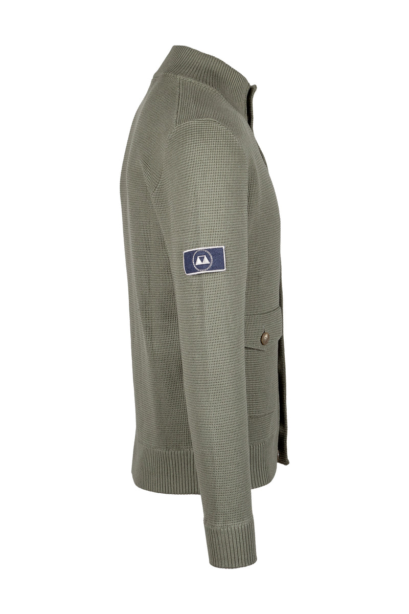 MONTEZEMOLO Men's Clothing - Knitwear - Pima Cotton Cardigan Jacket - www.montezemolostore.com