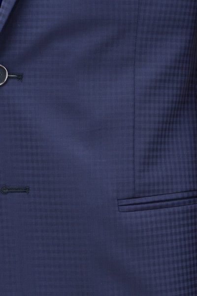 Faux-Uni Blue Stretch Wool Suit , Suits - MONTEZEMOLO www.montezemolostore.com - 7