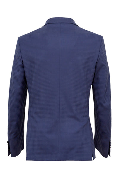 Faux-Uni Blue Stretch Wool Suit , Suits - MONTEZEMOLO www.montezemolostore.com - 6