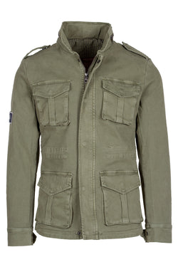 MONTEZEMOLO Men's Clothing - Jackets - Raw Denim Field-Jacket - www.montezemolostore.com