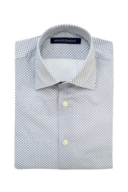 MONTEZEMOLO - Shirts - Checked Cotton Shirt - MONTEZEMOLO