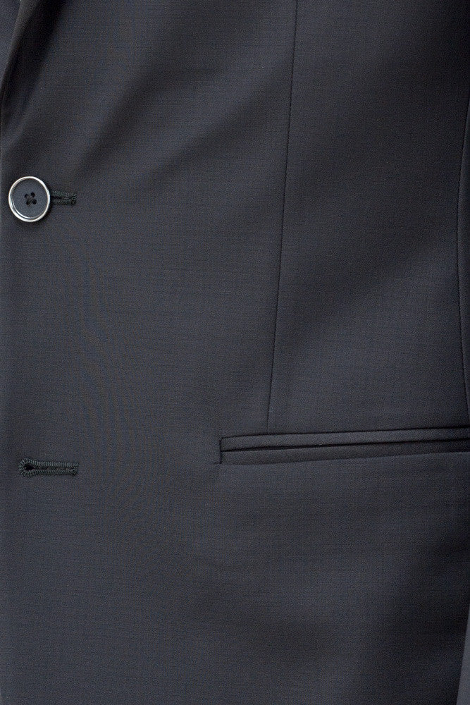 MONTEZEMOLO Men's Clothing - Suits - Black Tuxedo - www.montezemolostore.com