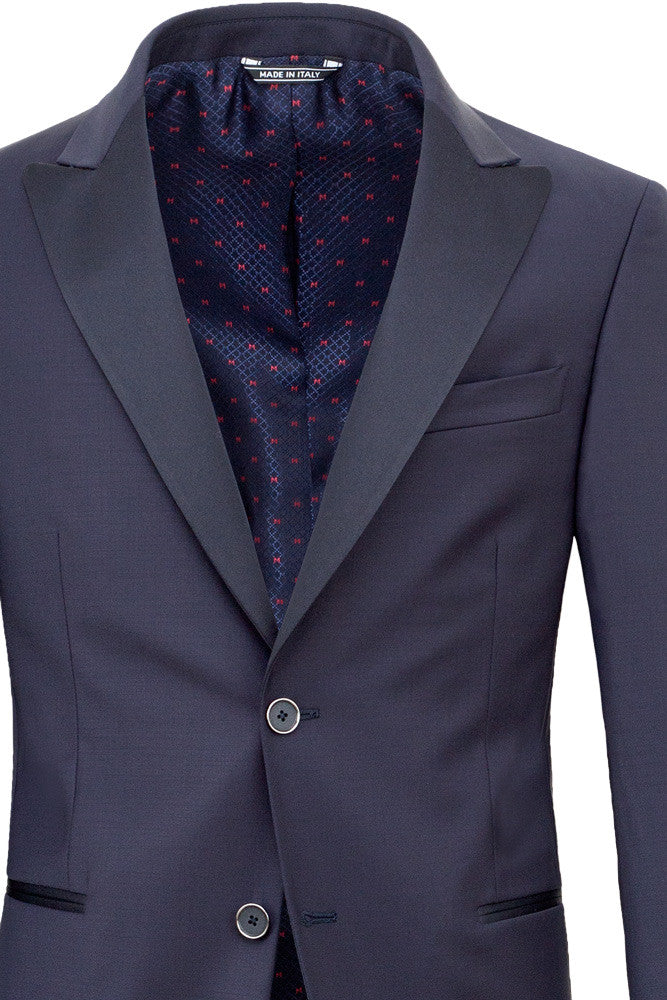 MONTEZEMOLO Men's Clothing - Suits - Blue Tuxedo - www.montezemolostore.com