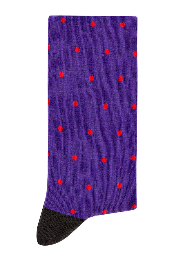MONTEZEMOLO Men's Clothing - Socks - Polka-Dot Socks - www.montezemolostore.com