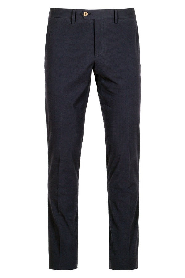 Seersucker Chino Trousers
