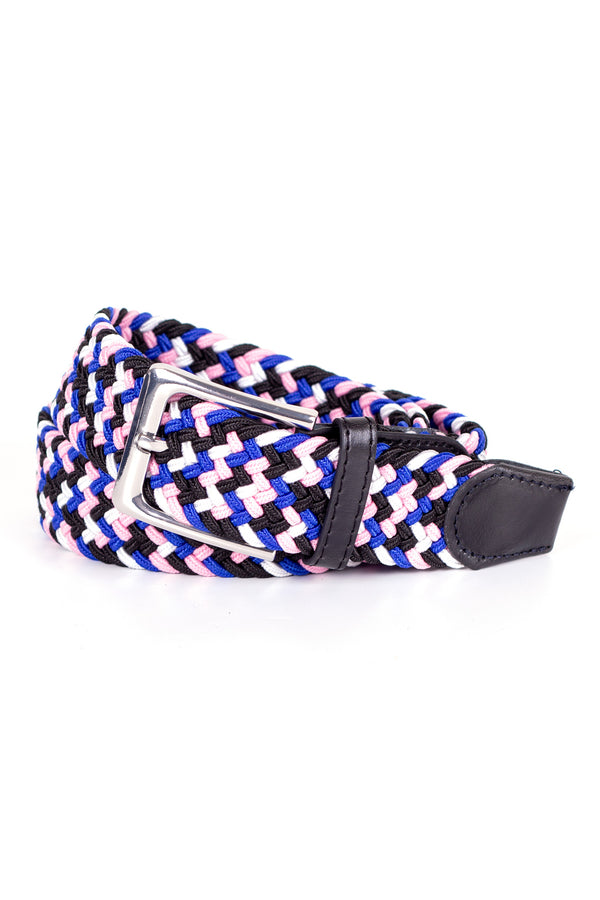 MONTEZEMOLO Men's Clothing - Belt - Woven Stretch Belt - www.montezemolostore.com