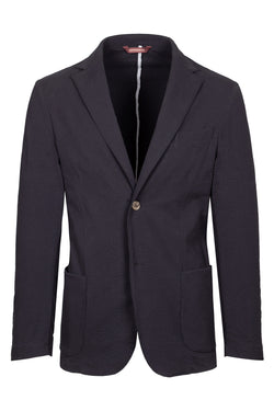 MONTEZEMOLO Men's Clothing - Jackets - Seersucker Cotton Jacket - www.montezemolostore.com