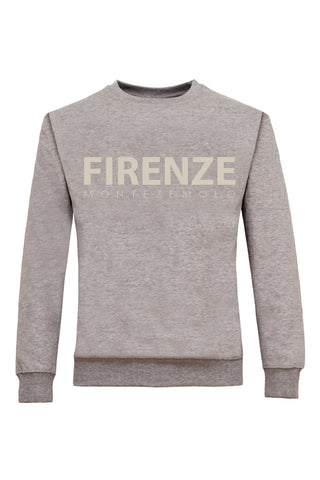 Firenze Rubber Printed Sweatshirt