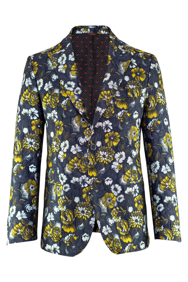 MONTEZEMOLO Men's Clothing - Jackets - Metallic Brocade Red Carpet Jacket - www.montezemolostore.com