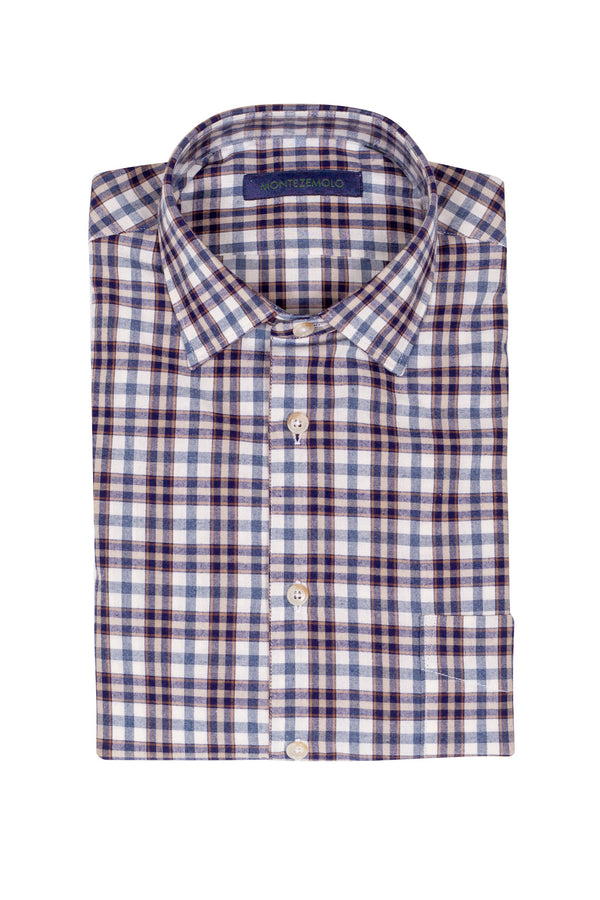 Multi Check Flannel Shirt