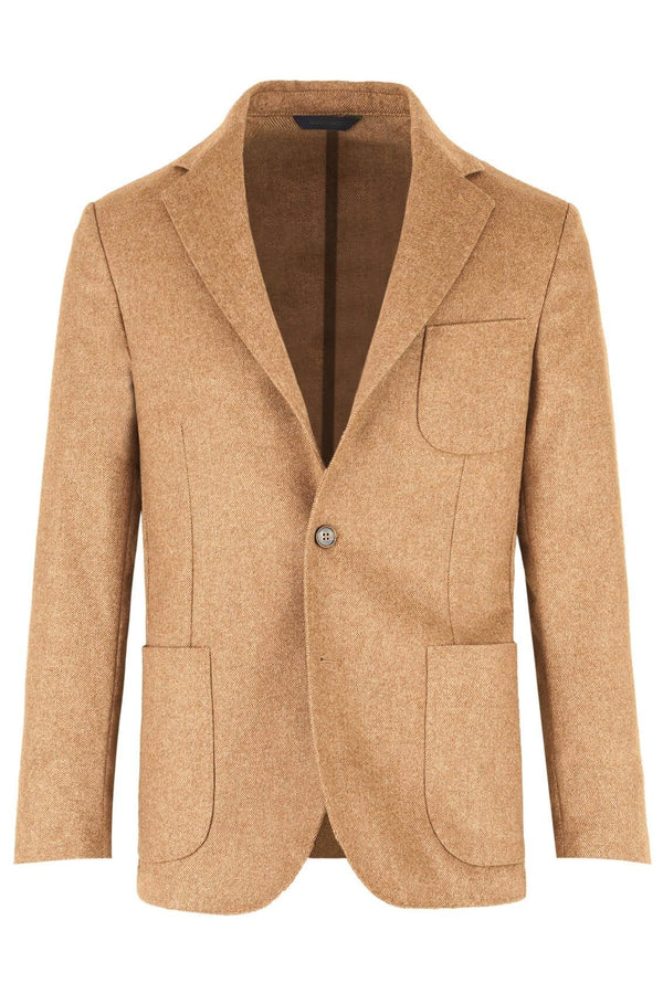 Twill Wool & Alpaca Blend Jacket