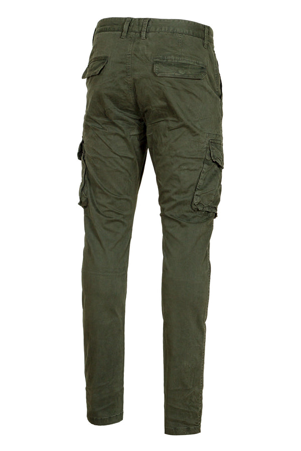 Cargo Cotton Trousers
