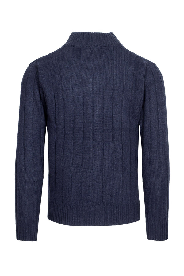 MONTEZEMOLO - Knitwear - Cable Knit Turtleneck - MONTEZEMOLO