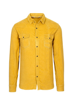 Yellow Corduroy Shirt