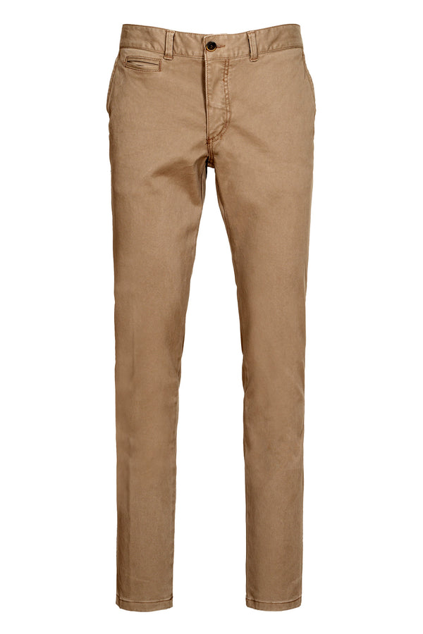 Chino in Cotone Twill Stretch