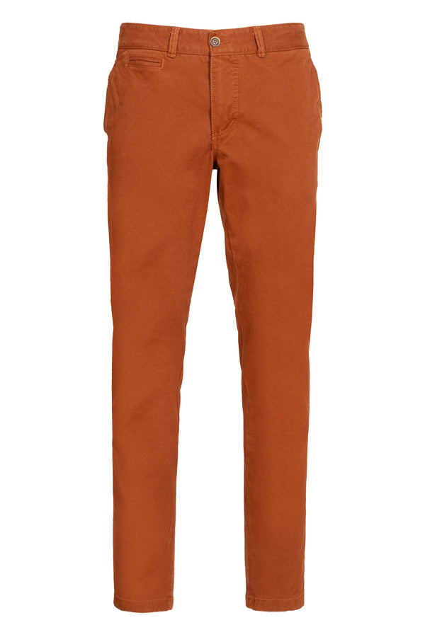 Twill Stretch Cotton Chino