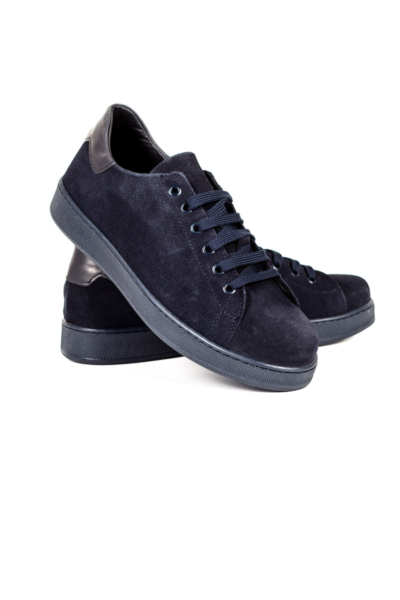 Suede Leather Sneakers
