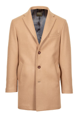 Camel Technofabric Coat