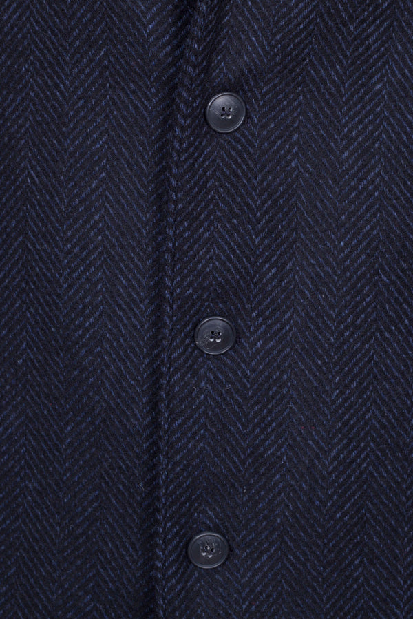 Herringbone Fancy Technofabric Coat