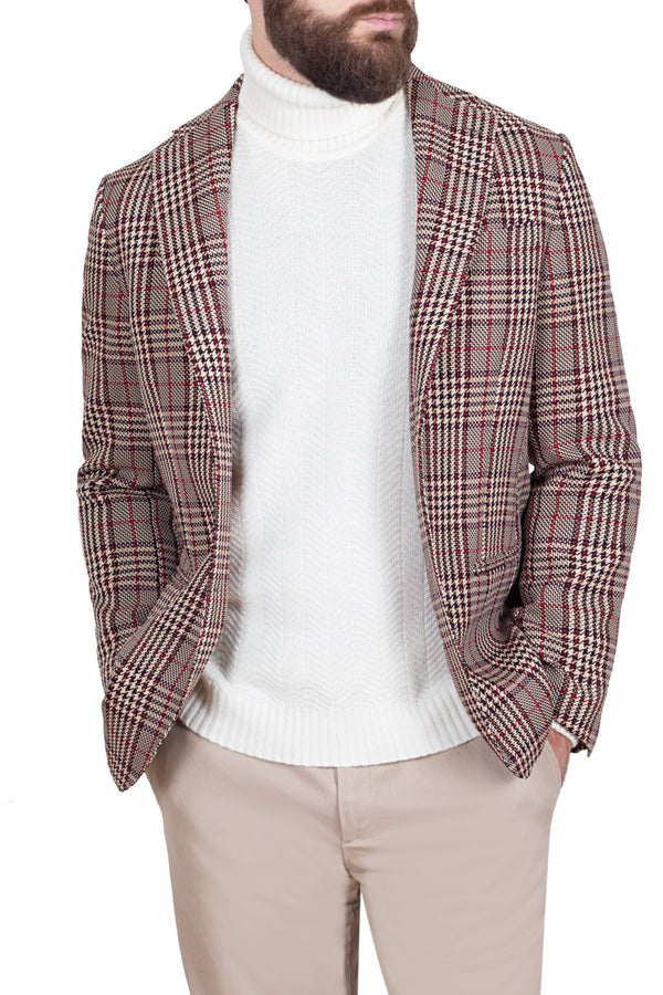 Prince-of-Wales Check Fancy Jacket