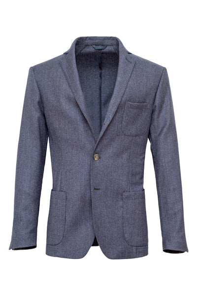 Micro Fancy Wool Jacket