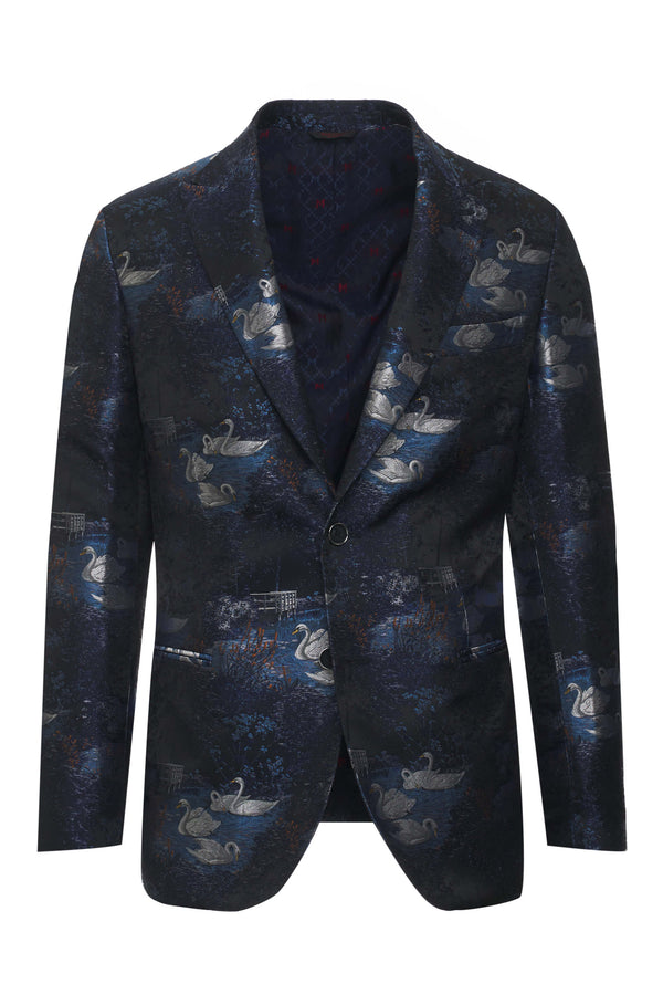 Red Carpet Fancy Brocade Jacket
