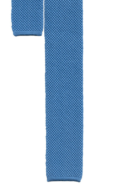 Knitted Cotton Tie , Ties - MONTEZEMOLO, MONTEZEMOLO
