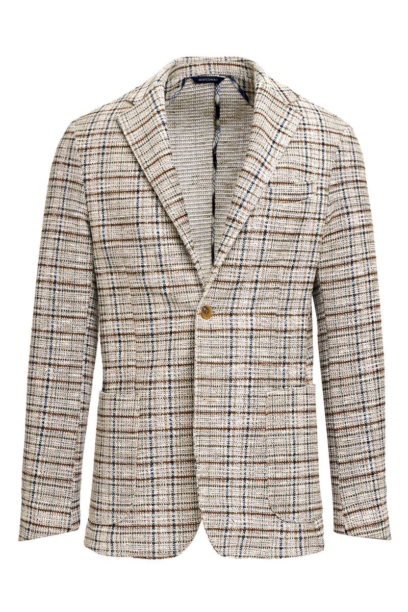 Cotton blend fancy jacket