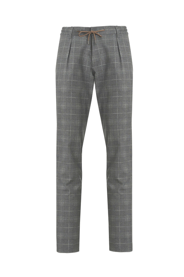 Drawstring Jersey Weave Fancy Trousers