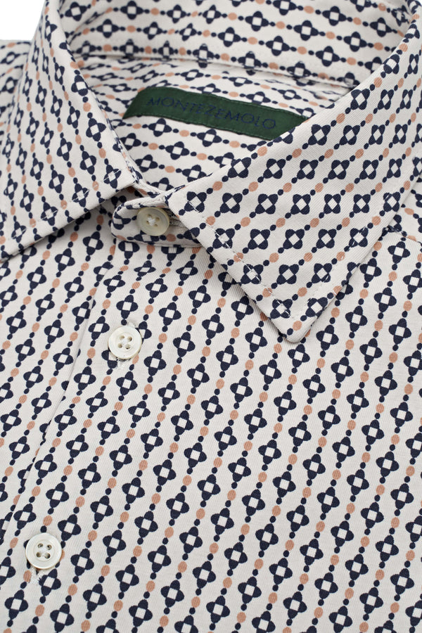 Fancy Knitted Shirt Polo