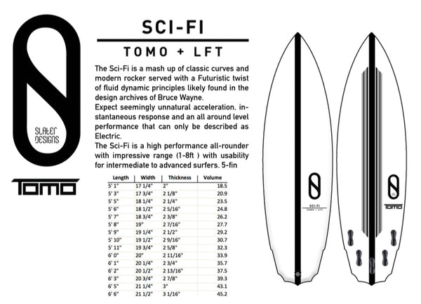 Kelly Slater designs Firewire tomo sci-fi surfboards