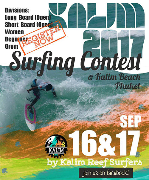 Kalim Surfing Contest 2017