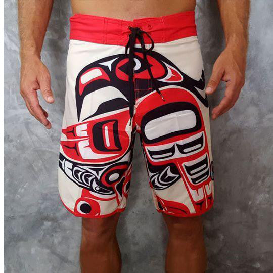 Batik Surf / Traditional Style Men's Surf Shorts