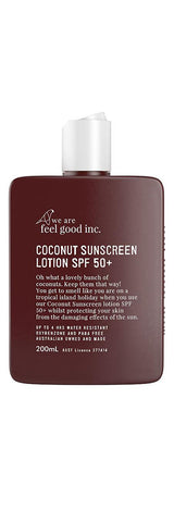 Feel Good / Coconut Sunscreen Lotion SPF 50+