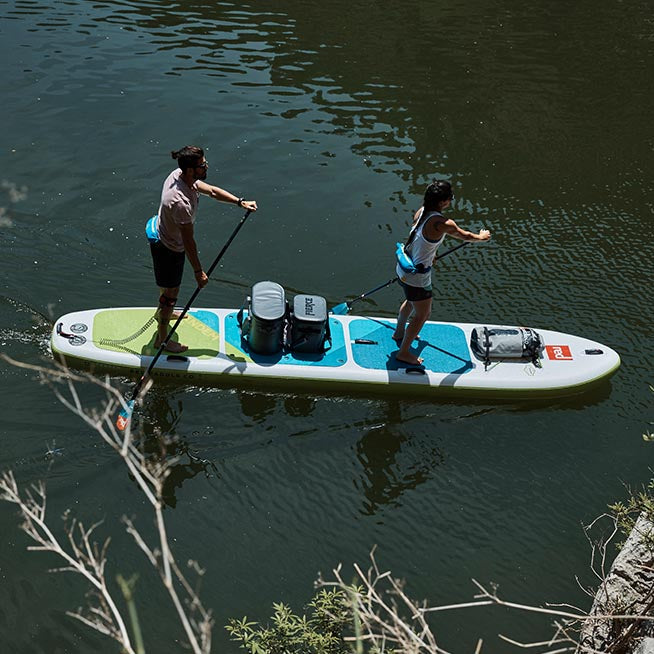 "Red Paddle Co / 2019 15'0"" Voyager Tandem MSL Inflatable SUP"