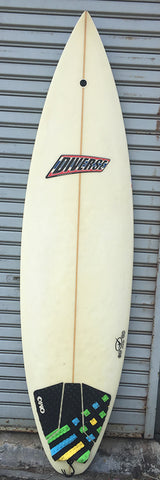 Diverse Surfboards / Squashtail Shortboard - USED