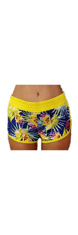 Batik Surf / Traditional Style Women's Beach Shorts