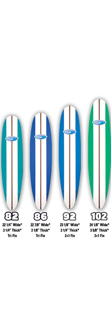 Sunset Softboards / Performance Longboard