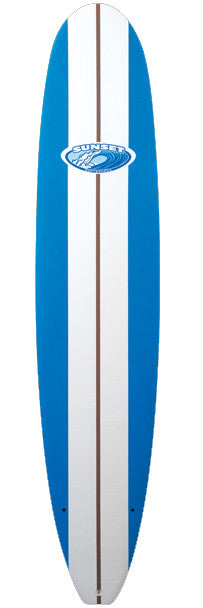 Sunset Softboards Performance Longboard Top