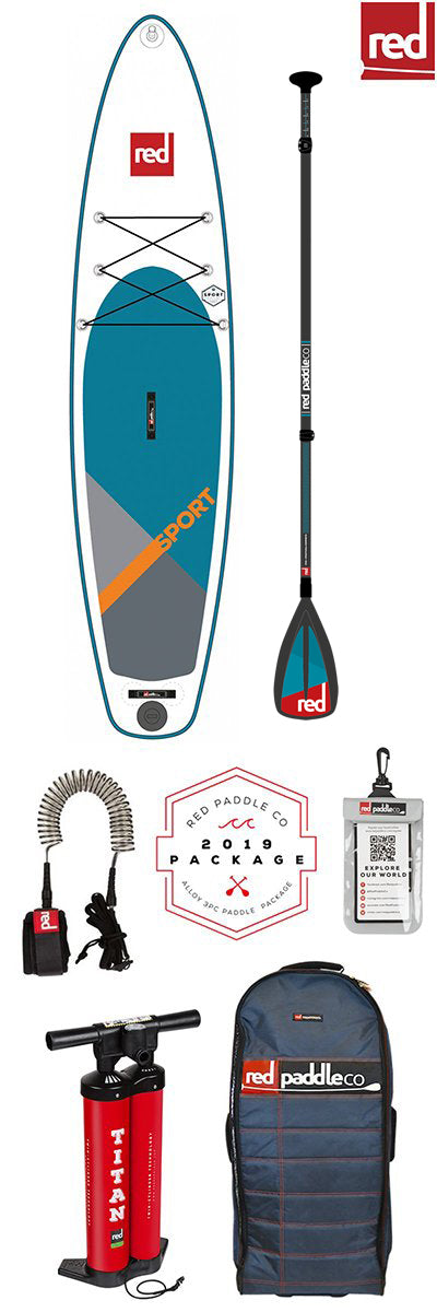Red Paddle Co / 2019 Sport MSL Inflatable SUP - FULL SET