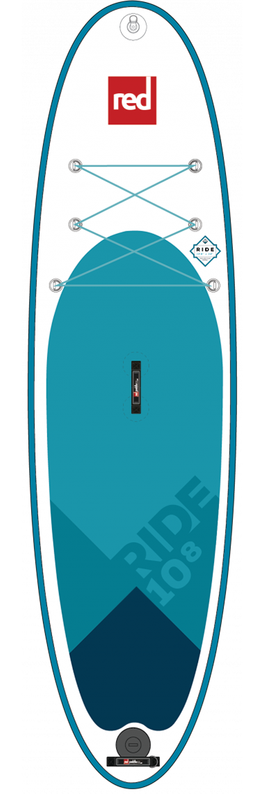 "Red Paddle Co / 2018 10'8"" Ride MSL Inflatable SUP"